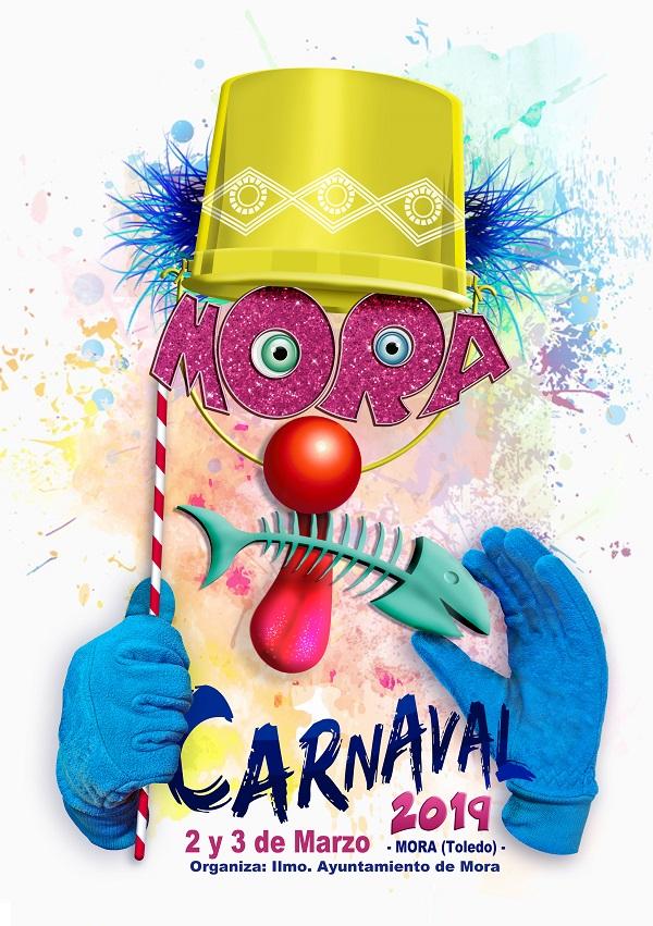 Carnavales 2019 - Cartel Anunciador obra de José Mª Fernández Briones